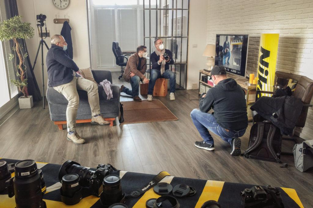 Test Nikon Z6ii in Studio a Firenze